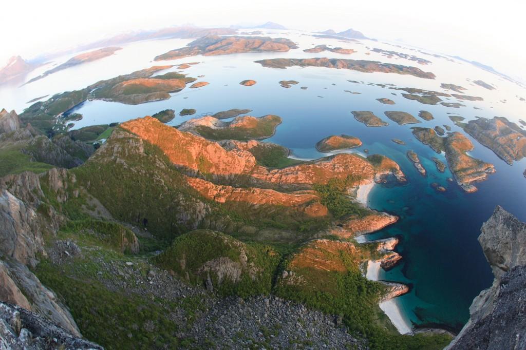 Utsikt fra Rødøyløva